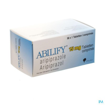 Abilify 15mg Comp 98 X 15mg