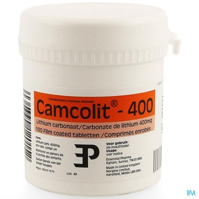 Camcolit Comp 100 X 400mg