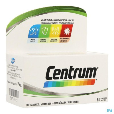 Centrum Adult Advanced P Comp 60